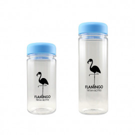 [BeVenuto] Flamingo Tritan Bottle 500ml Blue _ BPA Free Water Bottle, For Fitness, Gym and Outdoor Sports, Made in Korea