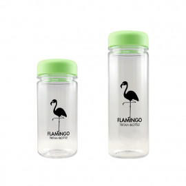 [BeVenuto] Flamingo Tritan Bottle 500ml Green _ BPA Free Water Bottle, For Fitness, Gym and Outdoor Sports, Made in Korea