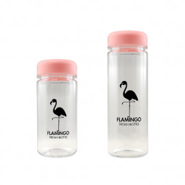 [BeVenuto] Flamingo Tritan Bottle 500ml Pink _ BPA Free Water Bottle, For Fitness, Gym and Outdoor Sports, Made in Korea