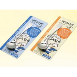 [Solingen] Einstein Spoon for kids, Stainless Steel (18-10) _ Made in KOREA