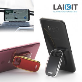 [Dazzl] LAiKit Classic _ All in One LAIKIT Smartphone Holder Selfie Grip Finger Socket Stand for iPhone Galaxy Made in Korea Dazzl