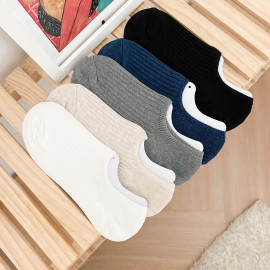 [WINDSCARF] Low Ankle Socks 5 Pack _ Deodorization, Fashion socks, Ribbed Socks, Men's Socks Women's Socks, Made in Korea