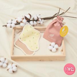 [ECOUS] Comfortable Cotton Panti Liner _ Eco Sanitary Pads, Organic Cotton, Daily Sanitary Pads, Reusable Cotton Pads, Menstrual Pads, Made in Korea