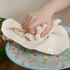 [ECOUS] Cotton 100% SOCHANG Fabric Dishcloth _ Zero Waste Muslin, Eco Kitchen Towels, Dish Cloths for Washing Dishes Dish Rags for Drying Dishes Kitchen Wash, Made in Korea